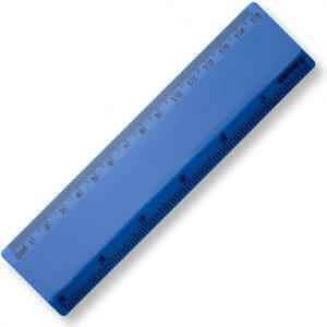 15cm Plastic Ruler - Blue