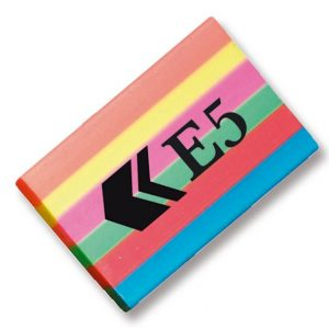 E5 Rainbow Eraser