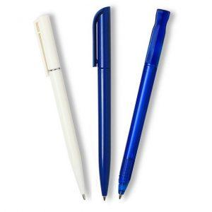 Twist Action Plastic Pens