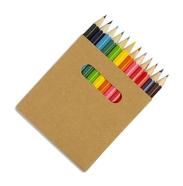 12 Half Length Colourworld Pencils