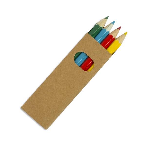 4 Half Length Colourworld Pencils