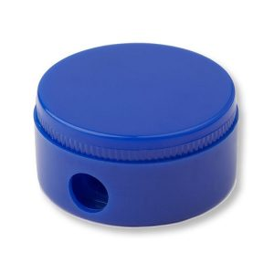 Round Pencil Sharpener - Blue
