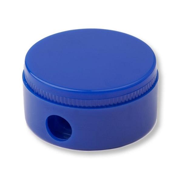 Round Pencil Sharpener - Blue