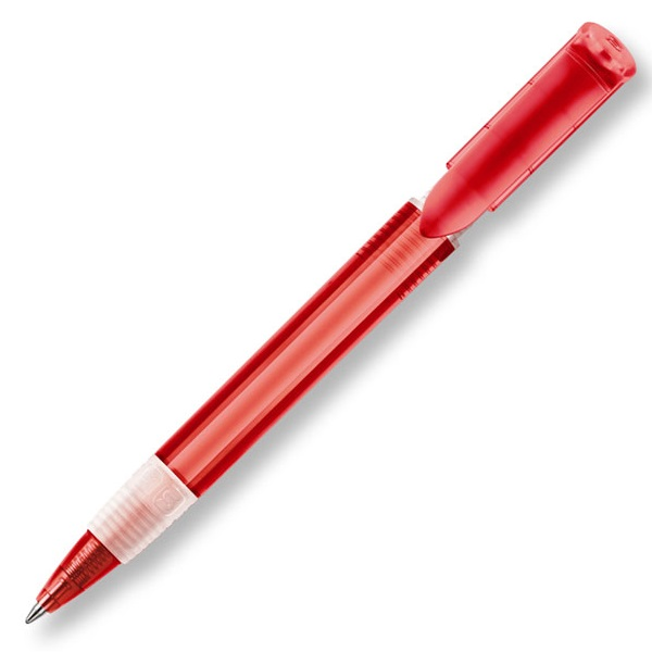 S40 Transparent Grip - Red